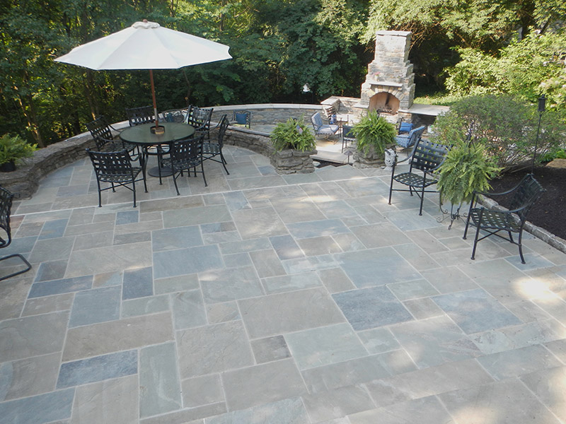 Beautiful Pennsylvania Bluestone   Quality Patio Stone Masonry