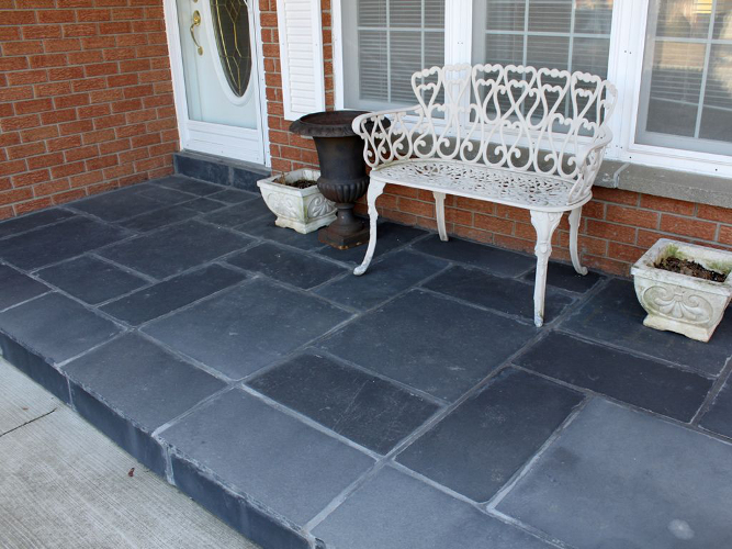 Castleton Black Quality Patio Stone Masonry